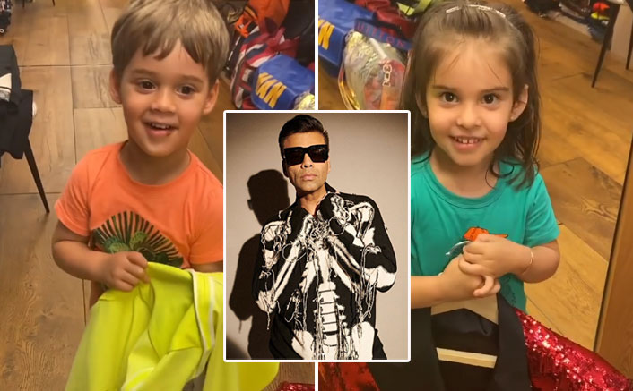 Karan Johar's Kids Are On Fire! Now Roohi Calls His Blazer Collection As 'Girl's Clothes'
