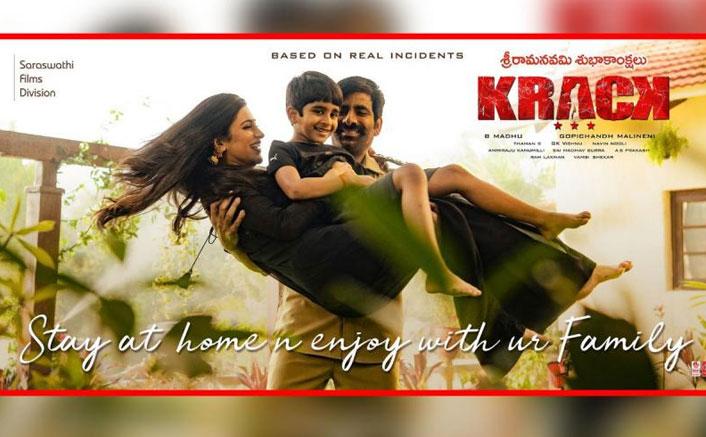 Krack: Ravi Teja & Shruti Haasan Practice Quarantine In Latest Poster Of Their Action Thriller