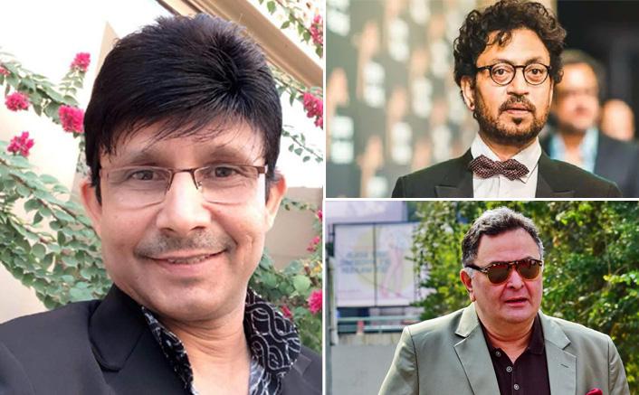 KRK Passes Cheap Remark On Rishi Kapoor & Irrfan Khan's Death ...