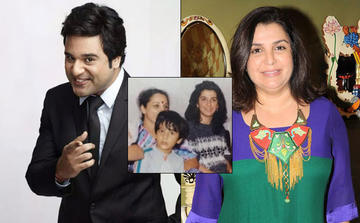Krushna misses the time he feasted on 'non veg' at Farah Khan's place