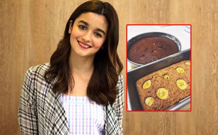 Lockdown diaries: Alia Bhatt bakes banana bread, sister Shaheen bakes cake