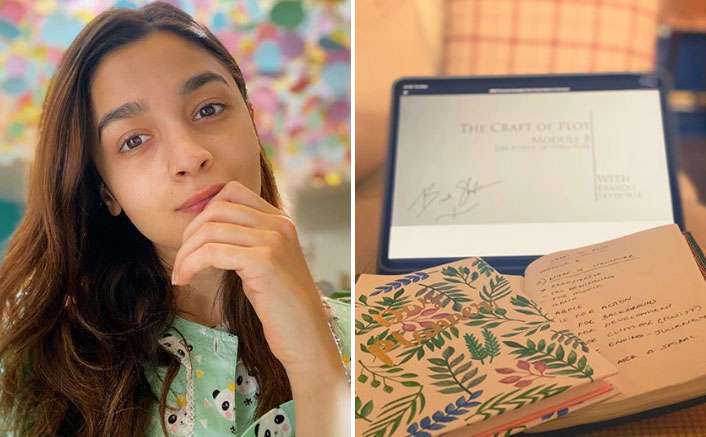 Alia Bhatt Takes Creative Writing Classes Amid Lockdown & We Can't Wait To See More!