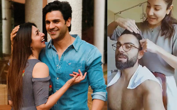 Lockdown diaries: When stars turned hairstylist for their partners