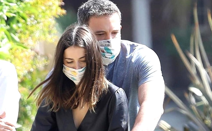 Love in time of quarantine: Ben Affleck, Ana de Armas kiss with masks on!