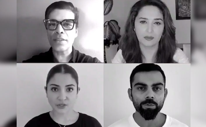 Anushka Sharma, Virat Kohli, Madhuri Dixit & Others Share A Crucial Message To Put A #LockdownOnDomesticViolence