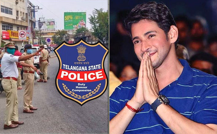 Mahesh Babu Expresses His Gratitude Towards Telangana Police Force For Their Relentless Hardwork Amid Global Crisis