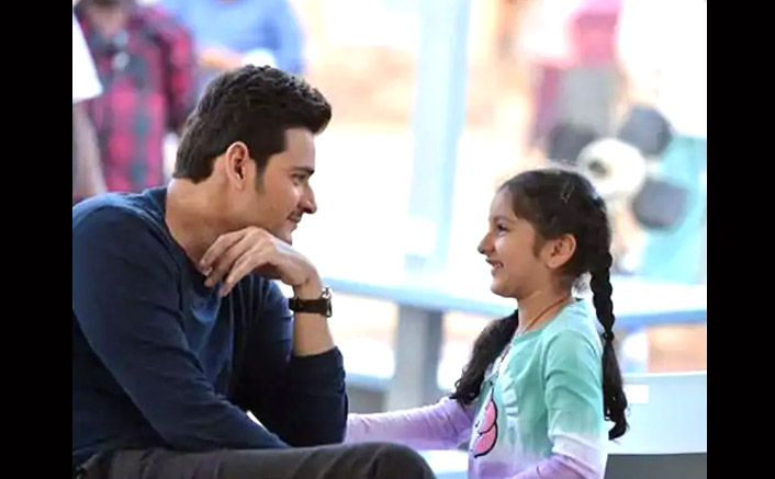 Mahesh Babu Spends Quality Time With Daughter Sitara By Watching Her Favourite Movie Amidst Lockdown; See Pic Inside