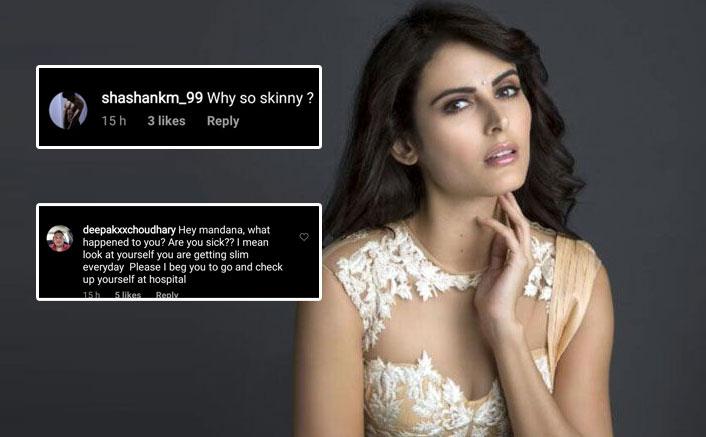 "Mandana Karimi Soars Temperature In A Black Bikini, Troll Instead Asks ""Are You Sick?"""