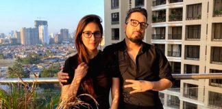 Mika Singh records song with next-door neighbour Chahatt Khanna