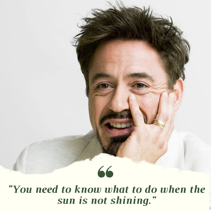 #MondayMotivation: Our Very Own Iron Man Robert Downey Jr's Real-Life Superhero Advice Is What We Need Right Now