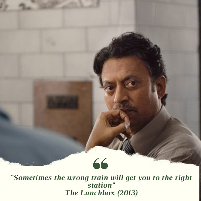 #MondayMotivation: This Dialogue From Irrfan Khan's The Lunchbox Will Make You Rethink About Your Life Decisions