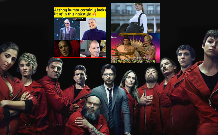 Money Heist Season 4: Memes Ft. Professor With Akshay Kumar, Salman Khan & Ramayan Will Make You LOL!
