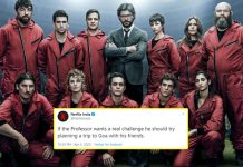 Money Heist Season 4: Netflix India Challenges Professor To Plan A Goa Trip With His Gang & Twitter Has Hilarious Reactions!