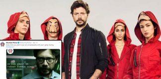 Mumbai Police's Lockdown Awareness Post With Money Heist Twist Is Winning Hearts On The Internet!