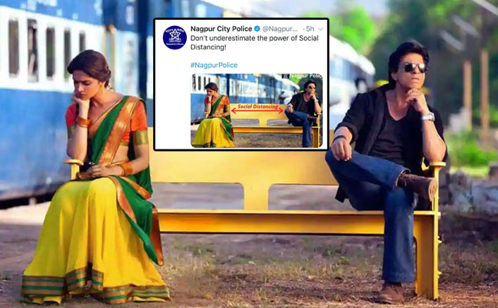 Nagpur Police Uses Shah Rukh Khan & Deepika Padukone's Chennai Express In A SAVAGE Way To Create COVID-19 Awareness!