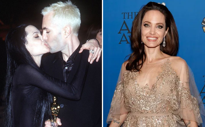 """PAST TENSE(D): When Angelina Jolie Lip-Kissed Brother, Said """"I'm So In Love..."""""""