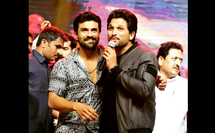 Ram Charan Misses Cousin Allu Arjun On His Birthday, Wishes Him With An Adorable Childhood Picture