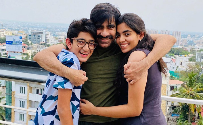 Ravi Teja's Latest Pic With His Children Will Melt Your Hearts Away!