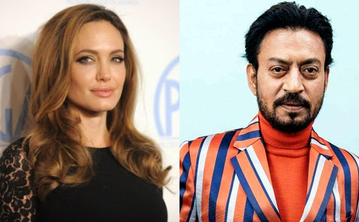 """Angelina Jolie On Irrfan Khan: """"I remember the intensity of his commitment"""""""