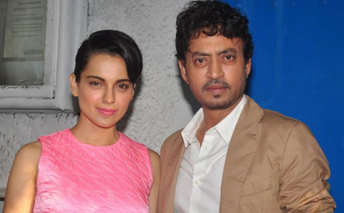 """Kangana Ranaut On Irrfan Khan: """"He Wanted To Live Every Moment Of His Life To The Fullest"""""""