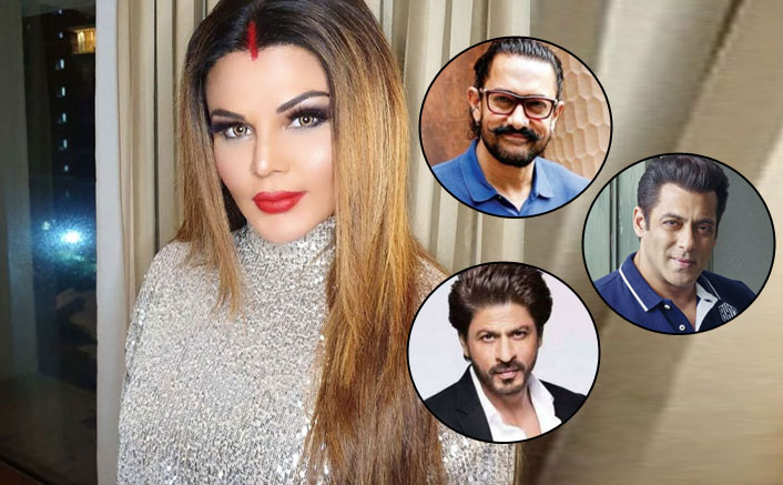 "Rakhi Sawant REVEALS Her Wish To Produce A Film Starring Shah Rukh Khan, Salman Khan & Aamir Khan: ""Mere Husband Ne Bola..."""
