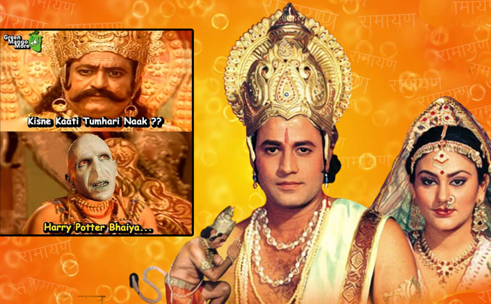 Ramayan: These Memes Ft. Lakshman & Raavan With Amitabh Bachchan, Voldermort & Others Will Crack You Up!