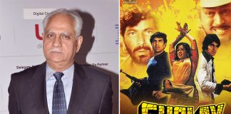 Ramesh Sippy: Not really keen to remake 'Sholay'