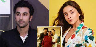 Ranbir Kapoor & Alia Bhatt Pose With Latters House Help Staff Amid Lockdown