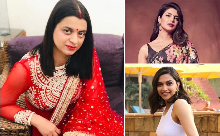 Rangoli Chandel Hits Out At Deepika Padukone & Priyanka Chopra, Calls Them Fools For Taking Safe Hand Challenge