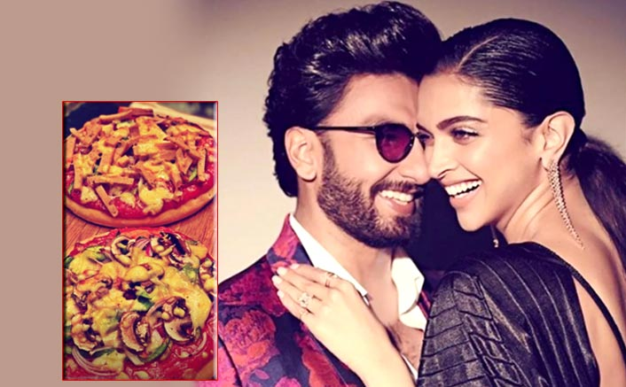 Ranveer Singh Eats 'Bade Bade Pizza' Made By Deepika Padukone & Drops A 'Cheesy' Comment About Her