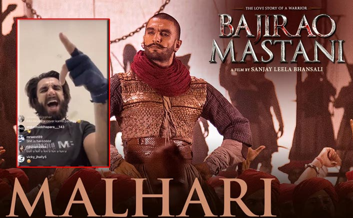 Ranveer Singh Shows Off His Beefed Up Version OnMalhaari Remix & We Cant Get Enough Of Him