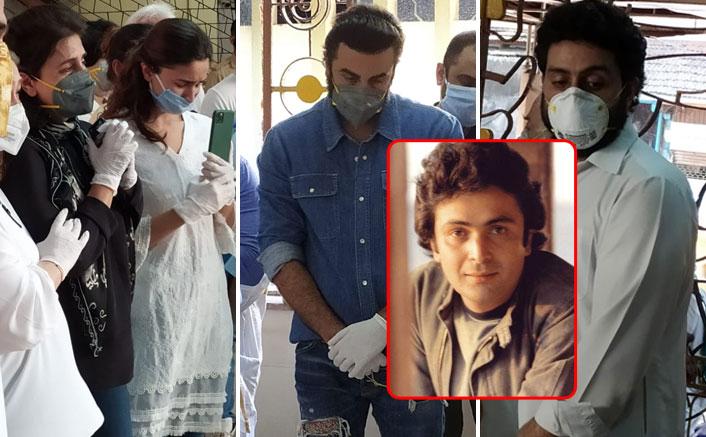 Rishi Kapoor Cremated In Mumbai In Presence Of Neetu Kapoor, Ranbir Kapoor & 18 Close Members