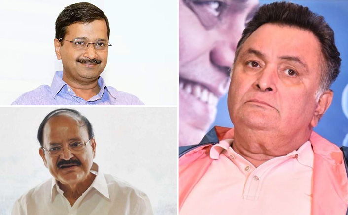 Rishi Kapoor Death: Vice President Of India, Delhi CM Arvind Kejriwal & Other Politicians Pay Their Respects
