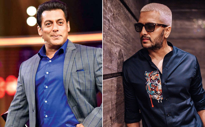 Riteish Deshmukh imitates funny dialogue between Salman Khan and reality show singer