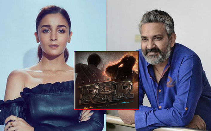 RRR: SS Rajamouli On Why He Chose Alia Bhatt & If There Is A Love Triangle Between Her, Jr NTR & Ram Charan