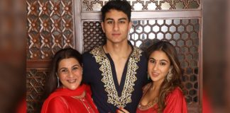 Saif's son Ibrahim bonds with sister Sara, mother Amrita over chores