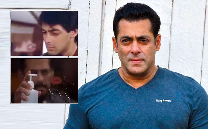 Salman Khan gives coronavirus twist to 'Maine Pyar Kiya' scene