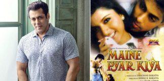 *Salman Khan's debut film 'Maine Pyar Kiya' was dubbed in Spanish, Telugu and English*