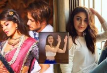 Shefali Jariwala's TikTok debut on Asim Riaz's song 'Mere angne mein'