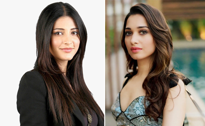 Shruti Haasan Opens Up About Her Friendship With Tamannaah Bhatia