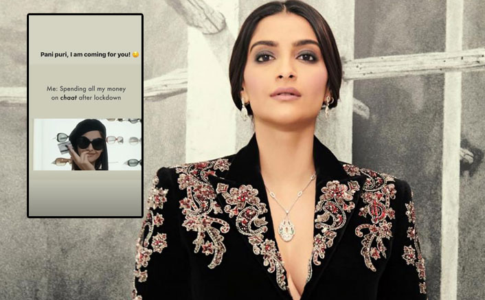 Sonam Kapoor Wants To Spend All Her Money On Pani Puri & Chaat After Lockdown, Check Out