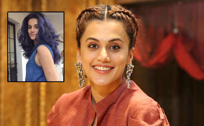 Taapsee Pannu Talks About The Experiments She Did With Her Curly Hair & It's Relatable AF!