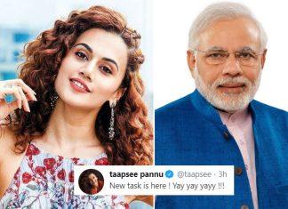Taapsee Pannu Takes A Sarcastic Dig At PM Narendra Modi