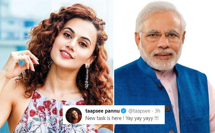 Did Taapsee Pannu Just Take A Sarcastic Dig At PM Narendra Modi?
