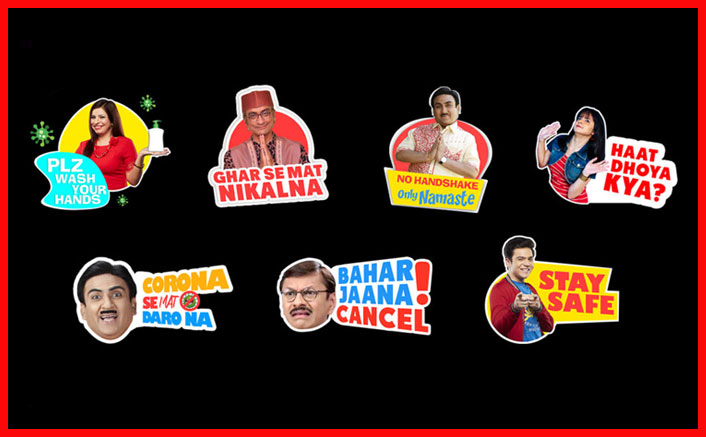 Taarak Mehta Ka Ooltah Chashmah's Innovative Stickers Are Fun & Informative At The Same Time!