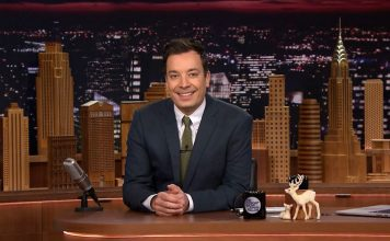 The Party Doesn't Start Till 'KESHA' Walks In At The Jimmy Fallon Show, Quite Literally