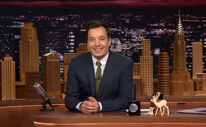 Jimmy Fallon Gets Emotional As He Returns On Sets Of The Tonight Show & Tries To Bring Back The Normalcy