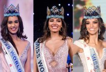 Miss World Manushi Chillar Unites With Other Miss Worlds Stephanie Del Valle & Vanessa Ponce To Spread COVID-19 Awareness