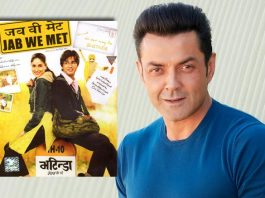 #ThrowbackThursday: When Bobby Deol Revealed He WasThe Original Choice For Jab We Met But Kareena Kapoor Refused To Work With Him!