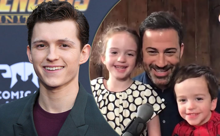 Spider-Man AKA Tom Holland Surprises Jimmy Kimmel's 3-Year-Old Son In The Most Unimaginable Way Ever